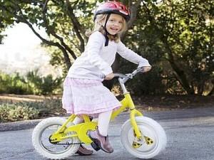 imparare ad andare in bici