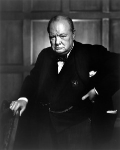 Non mollare mai - Churchill