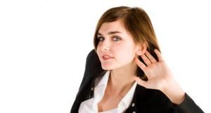 ascoltare il partner/cliente network marketing
