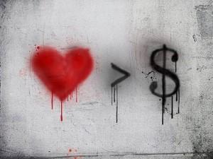 amore più importante del denaro