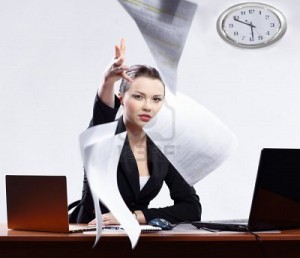 donna non soddisfatta del lavoro mlm