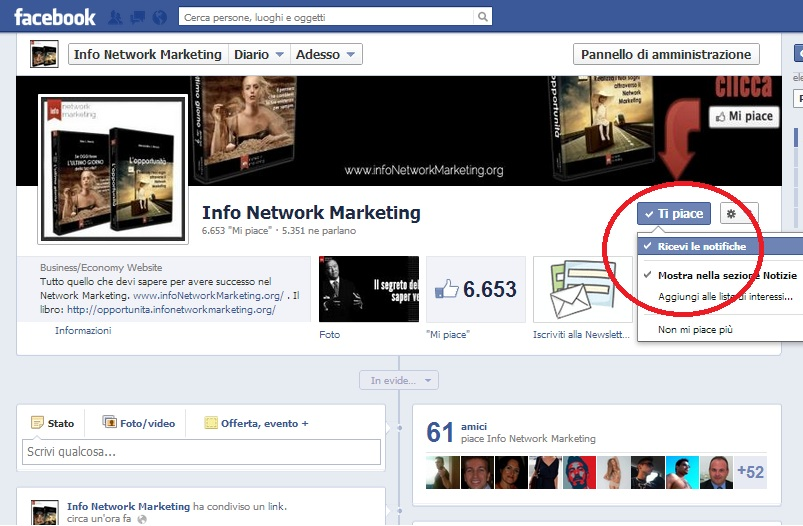 facebook info network marketing