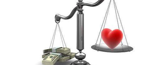 Amore o Soldi… Cos'e' piu' importante?